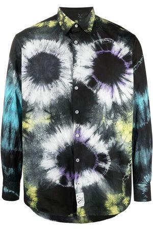 ARIES Men Shirts - Tie-dye print shirt