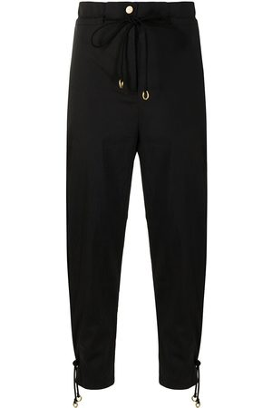 MANNING CARTELL Drawstring-waist tapered trousers