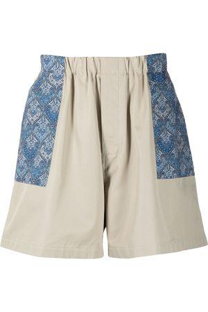 MACKINTOSH Liberty print shorts - Neutrals