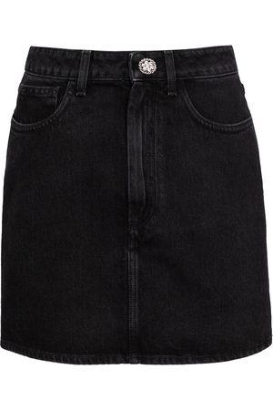 Alessandra Rich Women Mini Skirts - Denim miniskirt