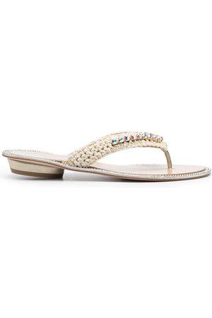 LE SILLA Muriel sandals - Neutrals