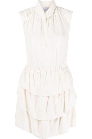 IRO Tiered mini dress - Neutrals
