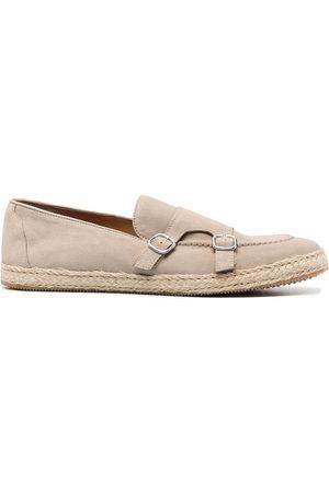 Doucal's Suede monk shoes - Neutrals