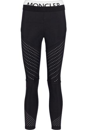 Moncler Stretch-jersey leggings