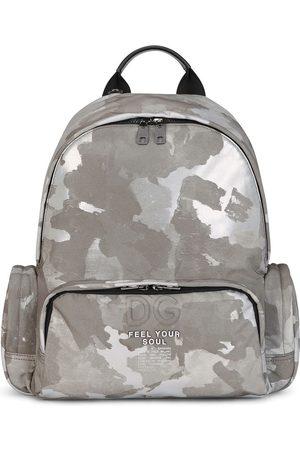 Dolce & Gabbana Camouflage-print backpack