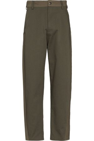 VALENTINO Panelled loose-fit trousers