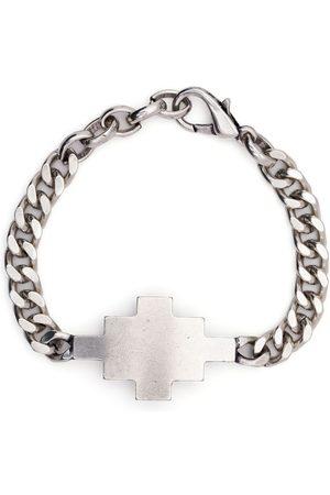 MARCELO BURLON Men Bracelets - Cross chunky chain link bracelet