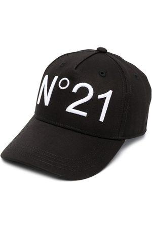 Nº21 Boys Caps - Logo-print cap