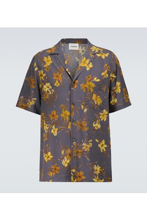 Nanushka Venci floral shirt