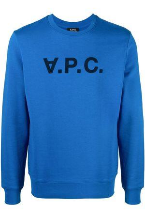 A.P.C. VPC logo-print cotton sweatshirt