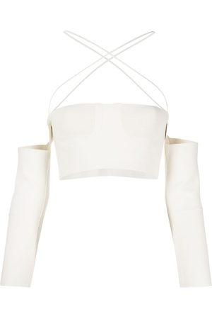 AMBUSH Knitted tube top - Neutrals