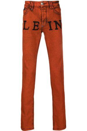 Philipp Plein Iconic Plein straight leg jeans