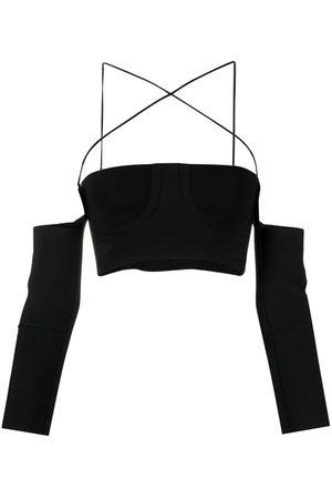 AMBUSH Off-shoulder cropped top