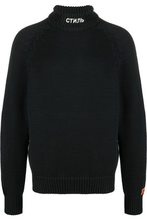 Heron Preston Men Turtlenecks - CTNMB knitted turtleneck jumper