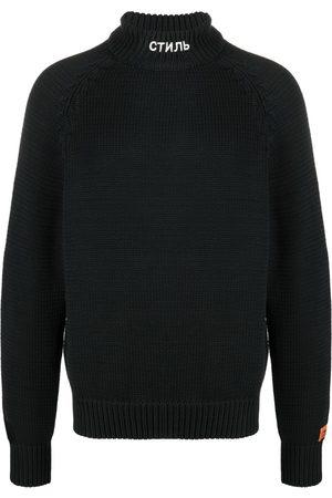 Heron Preston СТИЛЬ knitted turtleneck jumper