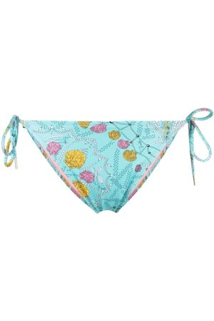 Emilio Pucci Women Briefs - Shell-print bikini brief