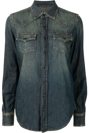 Saint Laurent Press-stud denim shirt