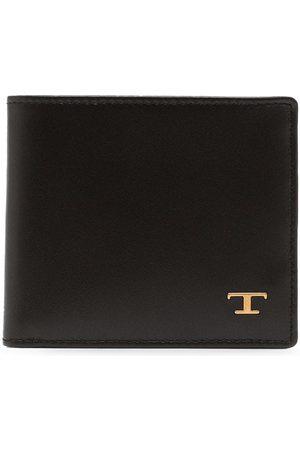 Tod's Logo plaque bi-fold wallet