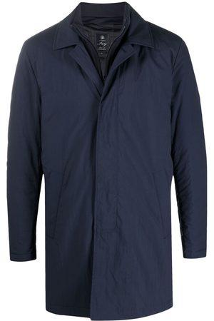 FAY Men Bomber Jackets - Long-sleeved concealed jacket