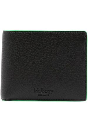 MULBERRY Grained leather bi-fold wallet