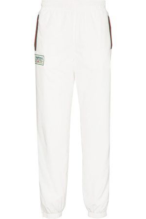 Casablanca Logo-patch tapered track pants