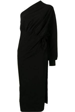 Balenciaga Asymmetric wrap dress