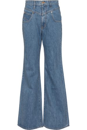 SLVRLAKE Women High Waisted - X ELLERY Highway high-rise flared jeans