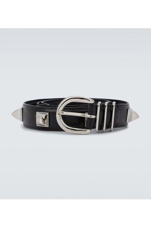 UNDERCOVER Men Belts - Studded leather belt