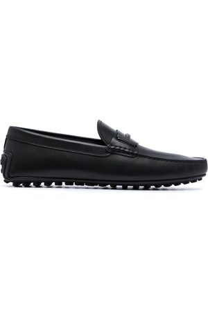 Tod's Logo plaque Gommino loafers