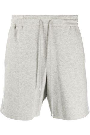 Thom Browne 4-Bar stripe track shorts - Grey