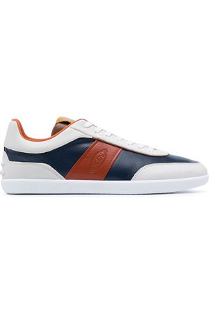 Tod's Colour-blocked low-top sneakers - Multicolour