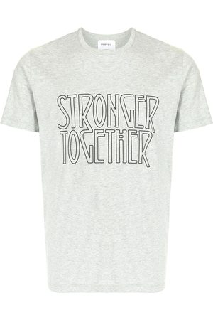 Ports V Stronger Together print T-shirt - Grey