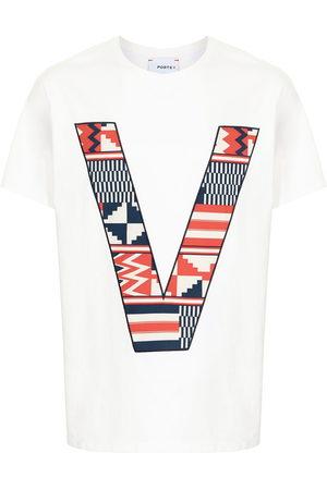 Ports V V logo cotton T-shirt