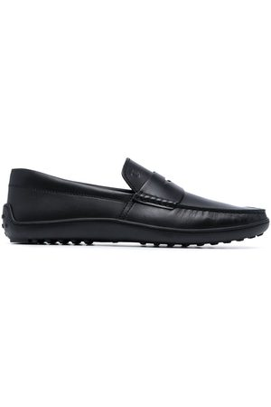 Tod's Gommino pebbled loafers