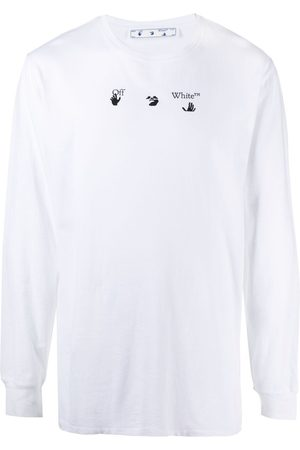 OFF-WHITE Men Long Sleeve - Arrows print long-sleeve T-shirt