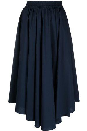 Michael Kors Women Midi Skirts - Asymmetric pleated midi skirt