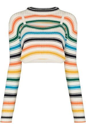 Rosie Assoulin Thousand In One Ways stripe-pattern jumper