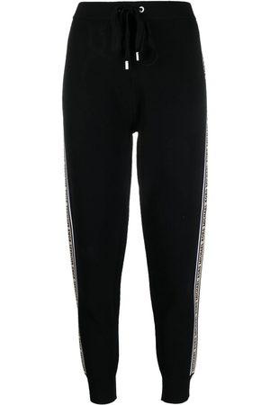 Michael Kors Women Leggings - Side logo-stripe leggings