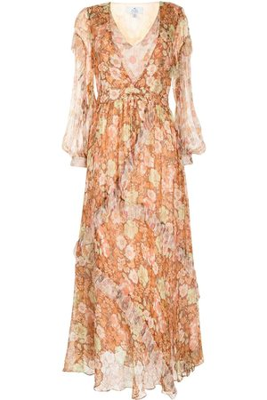We Are Kindred Gisela lurex maxi dress