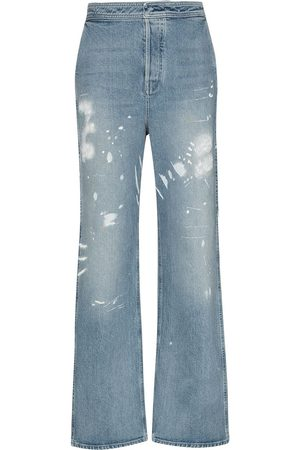 RTA Manon bleached high-waisted jeans