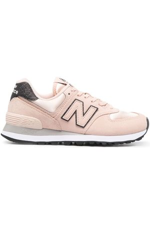New Balance 574 suede low-top sneakers - Neutrals