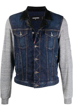 Dsquared2 Contrast-sleeve denim jacket