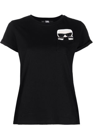 Karl Lagerfeld Women Short Sleeve - Karl motif short-sleeve T-shirt