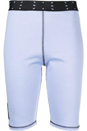 McQ Stitched cycling shorts