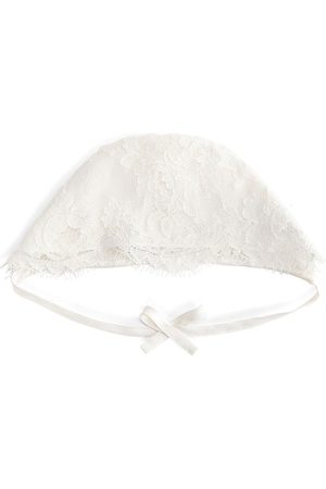 Dolce & Gabbana Boys Bow Ties - Bow detail lace hat