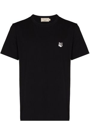 Maison Kitsuné Fox patch short-sleeve T-shirt