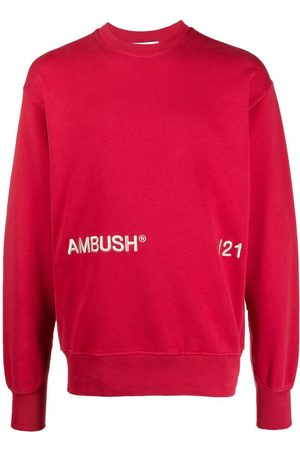 AMBUSH Logo-embroidered cotton sweatshirt