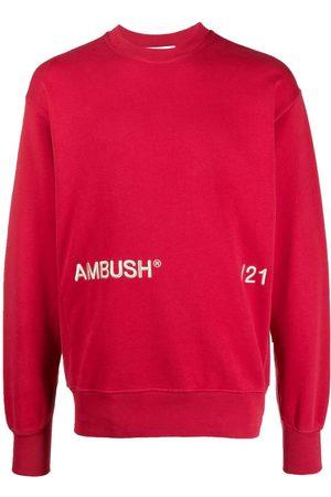 AMBUSH Logo-print long-sleeve sweatshirt