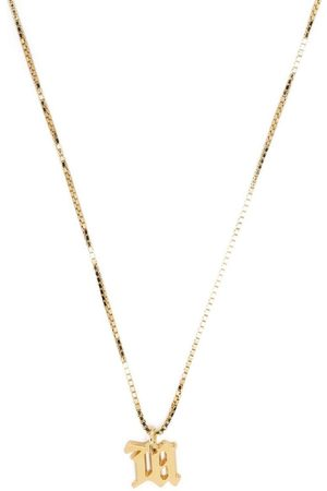 MISBHV Necklaces - Letter charm necklace