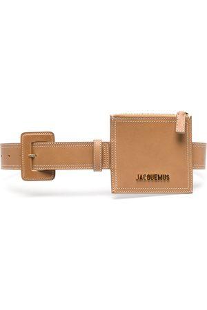Jacquemus La ceinture porte-monnaie cardholder belt - Neutrals